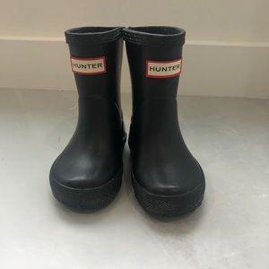 Original Kids First Classic Rain Boots: Black